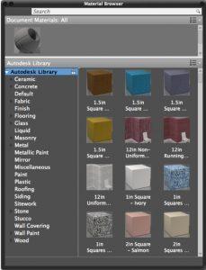 autodesk material library là gì
